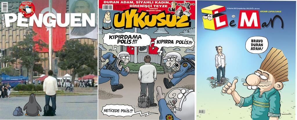 Satire-Magazin Uykusuz