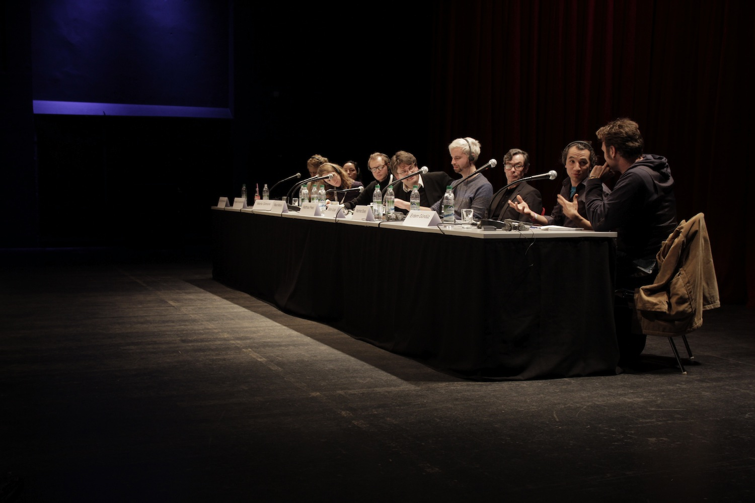 Podiumsdiskussion Theater in der Krise
