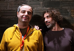 Rabih et Yasser Mroué au Théâtre de la Cité internationale, Paris Riding on a cloud, 10 octobre 2014