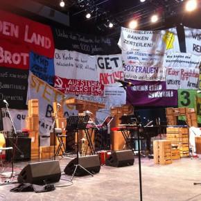 Brecht weiterdenken ODER Agitprop heute Proletenpassion 2015ff von Werk X aus Wien zu Gast bei Spielart